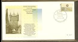 1986 - Nederland Filatelieloket Stempel FLS 5 - Hattem [HT005] - Marcophilie
