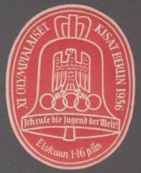 F-EX4082 GERMANY DEUTSCHLAND CINDERELLA 1936 OLIMPIC GAMES BERLIN. NORWAY WRITER. MNH LEVES - Allemagne