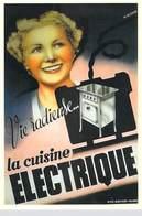 PUB Publicité NUGERON J 116  La Cuisine ELECTRIQUE Vie Radieuse   (-Bibliothéque Fornay)*PRIX FIXE - Advertising