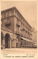 """0114  """"TORINO - IL PALAZZO DEL GRANDE ALBERGO MAJESTIC - STAZ. PORTA NUOVA""""   CART  NON SPED - Bars, Hotels & Restaurants"""