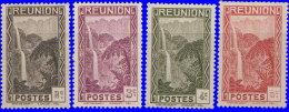 Réunion 1933. ~ YT 126/68* - Cascade De Salazie - Réunion (1852-1975)
