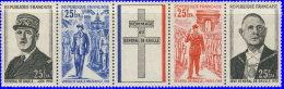 Réunion 1971. ~ YT 403A** -  Aniversaire Mort Gral De Gaulle - Réunion (1852-1975)
