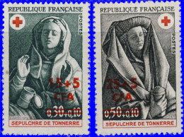 Réunion 1973. ~ YT 418 à 419** - Croix-Rouge. Sépulcre De Tonnerre - Réunion (1852-1975)