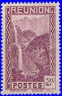 Réunion 1939. ~ YT 163** - 3 C. Cascade De Salazie - Réunion (1852-1975)