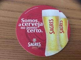 """Sous-bock * """"SAGRES CERVEJA"""" Portugal - Sous-bocks"""