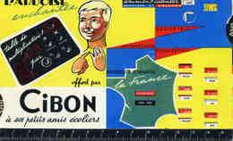 """C 110   /  PUBLICITE         /   CIBON    AVEC TIRETTE   """"    TBE - Advertising"""
