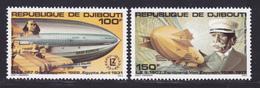 DJIBOUTI AERIENS N°   144 & 145 ** MNH Neufs Sans Charnière, TB (D7445) Zeppelin - Djibouti (1977-...)