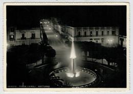 BRINDISI   PIAZZA   CAIROLI   NOTTURNO      (VIAGGIATA) - Brindisi