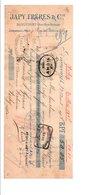 TRAITE JAPY FRERES à BEAUCOURT HAUT RHIN FRANCAIS 1907 - 1900 – 1949