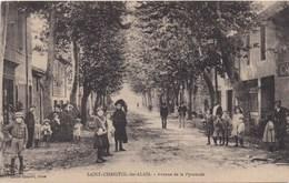 30 - SAINT CHRISTOL LES ALAIS - Avenue De La Pyramide - France