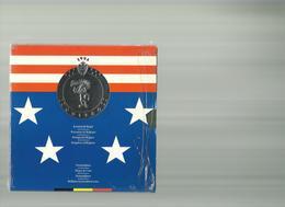 Koninkrijk Belgie -1995 -u N I T E D -muntenset F.d.c - 1993-...: Albert II