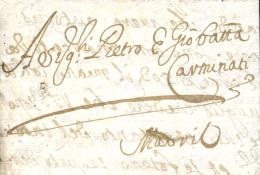 D.P. 1. 1668 (29 DIC). Carta De Venecia (Italia) A Madrid. Rara Carta Completa Del Siglo XVII. - Spanje