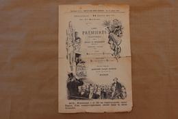 Pages Spécimen, Les Premières Illustrées, 6ème Année,  Suppl.Revue Des Deux-Mondes 15 Janvier 1887 - Old Paper