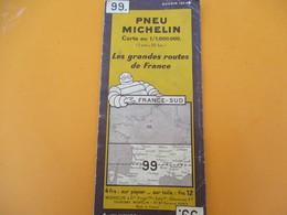 Pneu Michelin / Les Grandes Routes De France/ FRANCE-SUD/ N°99/Maillet/SAINT OUEN/Vers 1930-40   PGC200 - Cartes Routières