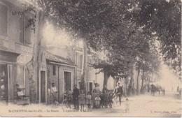 30 - SAINT CHRISTOL LES ALAIS - La Route - L'épicerie VALES - France