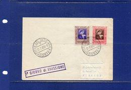 ##(DAN187)- 1953 -  Santa Maria Goretti  Set On F.D.C. - FDC