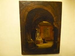 GRANET François-Marius - Moine En Prière - Vers 1800/1820 - Art, Peintures, Huiles - Olii