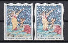 - FRANCE - Variété N° 1458b - 1 F. L'APOCALYPSE 1965 - DIABLE ET ARBRE BLANCS - Cote 120 EUR - - Variétés Et Curiosités