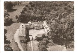 CPSM 63 Culhat . Vue Aérienne Du Chateau De Champgarand - France