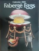 Calendrier Œufs Fabergé Calendar 1985 Fabergé Eggs - Calendars