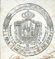 LA HABANA. Sello Del Colegio De Escribanos De La Habana. Año 1838. - Fiscales