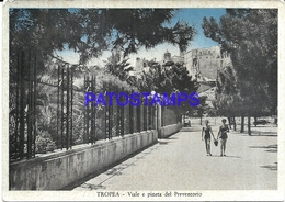 95845 ITALY TROPEA STREET & PREVENTORY PINEWOOD POSTAL POSTCARD - Italia