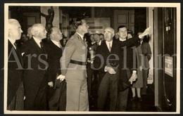 Photo Postcard / ROYALTY / Belgique / België / Roi Leopold III / Koning Leopold III / Expo De L'Homme / Palais D'Egmont - Beroemde Personen