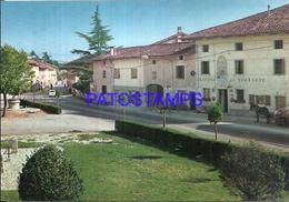 95850 ITALY CAMPOFORMIDO UDINE SQUARE & HOUSE OF THE TREATY POSTAL POSTCARD - Italie