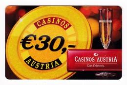 Casinokarte Casino Austria - Casinokarten