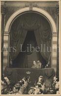Photo Postcard / ROYALTY / Belgique / België / Roi Leopold III / Koning Leopold III / Palais Des Académies / Bruxelles - Beroemde Personen