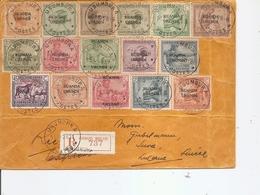 RuandaUrundi ( Lettre Recommandée De 1928  De Usumbura  Vers La Suisse à Voir) - Ruanda-Urundi