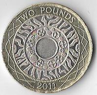 United Kingdom 2011 £2 [C535/2D] - 2 Pounds