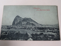 The ROCK From Spain ( Beanland, Malin & C° ) Anno 19?? ( Zie Foto's ) ! - Gibraltar