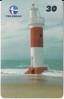 BRAZIL(Telemar) - Lighthouse, Farol De Galinhos, 06/00, Used - Lighthouses