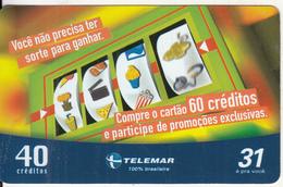 BRAZIL(Telemar) - Game, Tirage 50000, 03/04, Used - Games