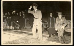 Photo Postcard / ROYALTY / Belgique / België / Roi Leopold III / Koning Leopold III / Centenaire D'Ernest Solvay / 1938 - Beroemde Personen