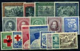 3322-Chile Nº 201/11, 215/16, 234/7 - Chili
