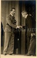 Photo Postcard / ROYALTY / Belgique / België / Roi Leopold III / Koning Leopold III / Musée Royal Des Arts Décoratifs - Musea
