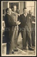 Photo Postcard / ROYALTY / Belgique / België / Roi Leopold III / Koning Leopold III / Musée Royal Des Arts Décoratifs - Musées