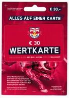 Geschenkkarte Geschenkkarte Für Red Bull Arena Und Bullshop Auf Karton - Gift Cards