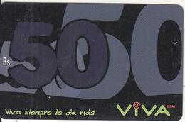 BOLIVIA - Viva Prepaid Card Bs.50 Exp.date 15/12/03, Used - Bolivia