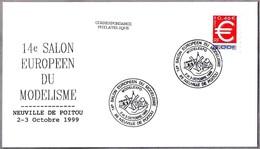 Salon De Modelismo - MOLINO - WINDMILL - MOULIN. Neuville De Poitou 1999 - Molinos