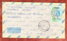Brief, EF Freiheitskopf, Arroio Do Meio Nach Frankfurt 1996 (54091) - Cartas