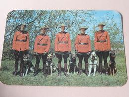 Royal Canadian Mounted Police ( Dextone ) Anno 19?? ( Zie Foto's ) ! - Cartes Modernes