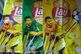 Messi Lays Chips  3 Differents - Other