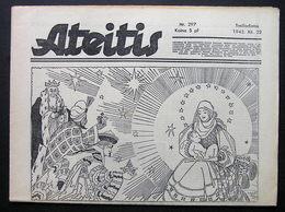 1943.12.22 Lithuania WW II/ Newspaper/ Ateitis No. 297 - Boeken, Tijdschriften, Stripverhalen
