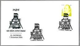 MUMI - 100 AÑOS COMO PALAU - CASTILLETE DE MINA - HEADFRAME. El Entrego, Asturias, 2005 - Minerales
