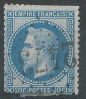 Lot N°43796  N°29A, Oblit GC 2473 Montier-sur-Saulx, Meuse (53), Ind 5 - 1863-1870 Napoleon III With Laurels