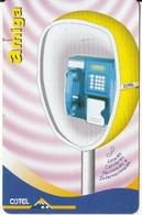 BOLIVIA - Amiga, Cotel Cardphone, Cotel Telecard 5 Bs, Tirage 40000, 03/06, Used - Bolivia