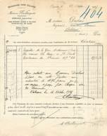 VP-GF.18-476 : DOMAINE DES CAVES. MADAME BAILLARGEAT ONZAIN.. LOIR-ET-CHER. 1925 - France